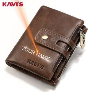 KAVIS-gravure-gratuite-nom-en-cuir-veritable-portefeuille-hommes-portefeuille