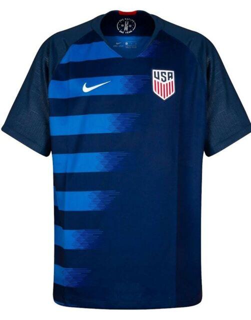Nike Mens USA Soccer USMNT 2018 Away Jersey 100 Official Licensed Size M