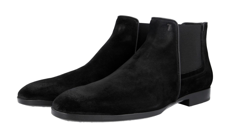 Lujo Tod's botín zapatos xxm0zh0q770re0b999 negro nuevo 12 46 46,5