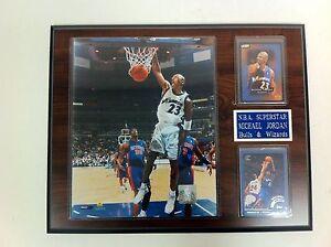 Michael-Jordan-Wizards-Collector-Plaque-NBA-Basketball-NEW