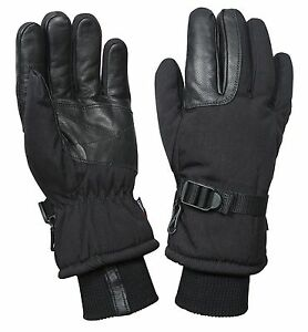 Black-Cold-Weather-Waterproof-Military-Glove-Mitten-Small-Medium-Large-XL