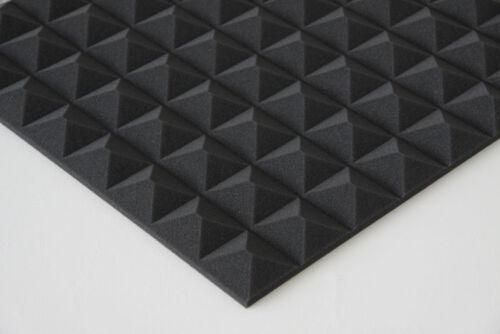 5m² Akustik Pyramiden Schaumstoff Absorber Schallschutz