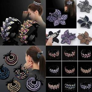 Women-Fashion-Hair-Clip-Crystal-Claw-Ponytail-Bun-Holder-Girls-Hair-Comb-Hairpin
