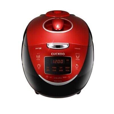 Cuckoo 6 Cups Ih Pressure Rice Cooker Crp Hvb0680sr Korean Voice 220v Ebay