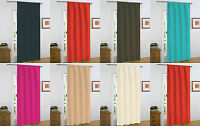 NEW FLORAL PATTERNED MODERN WARM THERMAL THICK DOOR CURTAIN / PANEL - 7 COLOURS