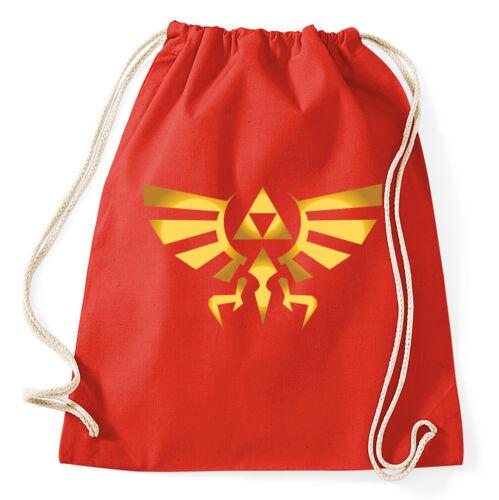 Triforce Turnbeutel Symbol Logo Sportbeutel Jutebeutel Rucksack link zelda