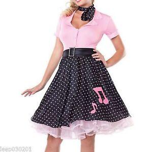 Pink retro 50's costume for women Vegaoo | Disfraz años 50