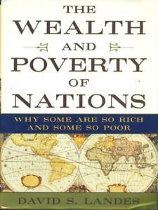 Raisonnable The Wealth And Poverty Of Nations David Landers Norton & Company 1998 Parfait Dans L'ExéCution