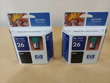 26 Black, 2 Pack MS Imaging Supply Remanufactured Inkjet Cartridge Replacement for HP 51626A