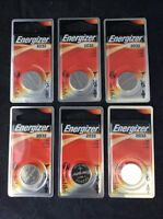 6 Pc Energizer Lithium Watch Batteries Ecr2032bp Expire 03-2023