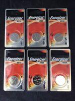 6 Pc Energizer Lithium Watch Batteries Ecr2032bp Expire 03-2023
