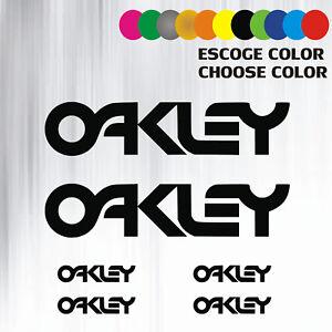 pegatinas vinilo oakley