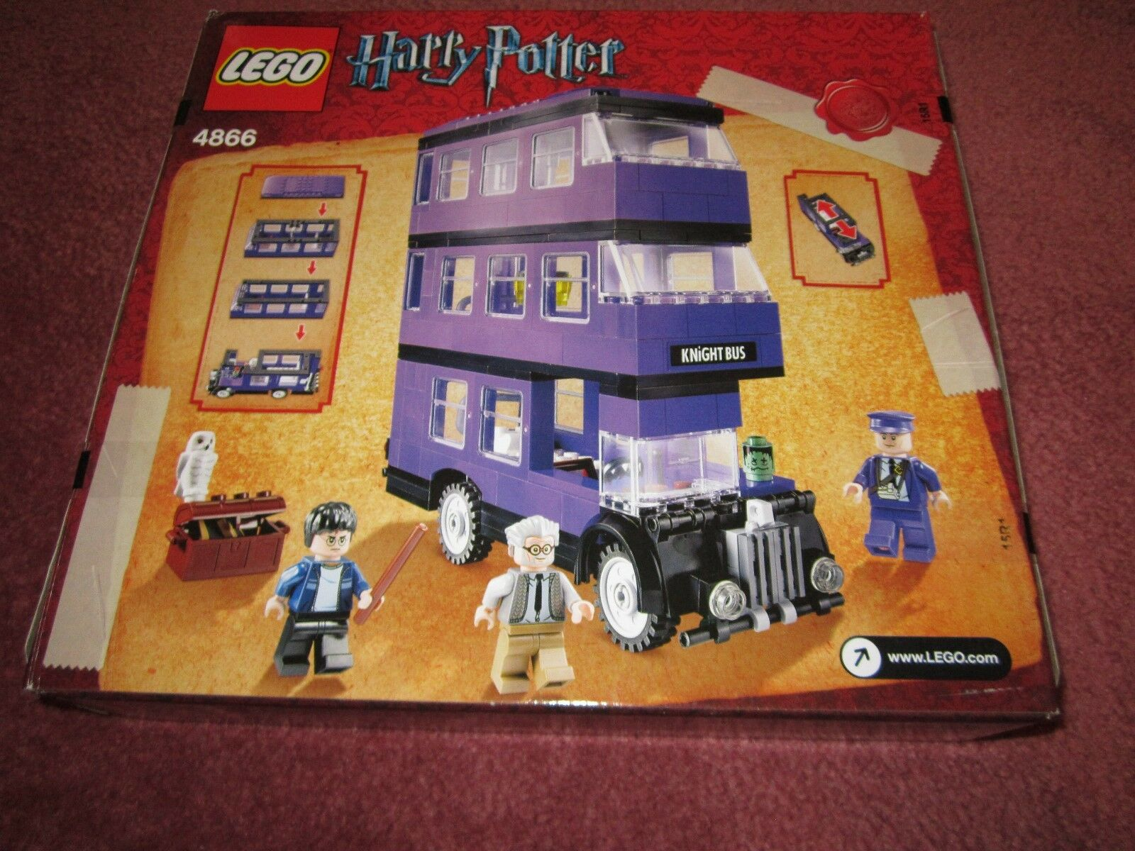 LEGO HARRY POTTER KNIGHT BUS 4866 - NEW/BOXED/SEALED - - - SEE PHOTOS 7c8ccb