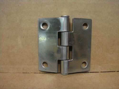 """Boat//Marine SSHN66022 Stainless Steel Butt Hinge  2/"""" x 2/"""""""