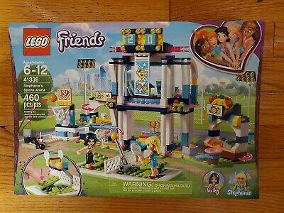 LEGO Friends 41338 Stephanie/'s Sports Arena NEW SEALED RETIRED