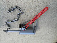 4 - Duke Dog Proof Coon Traps W/ Dp Setter, Trapping, Dp Trap Raccoon Trapping