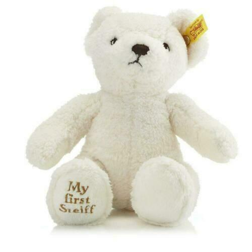 24cm 664021 NEW Cream Steiff My First Teddy Bear