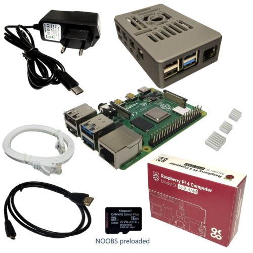 Raspberry Pi 4B starter kit
