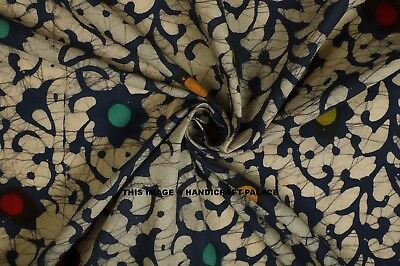 Indian Light Weight Multi Color Cotton Fabric Craft Sewing Material By 1 Metre