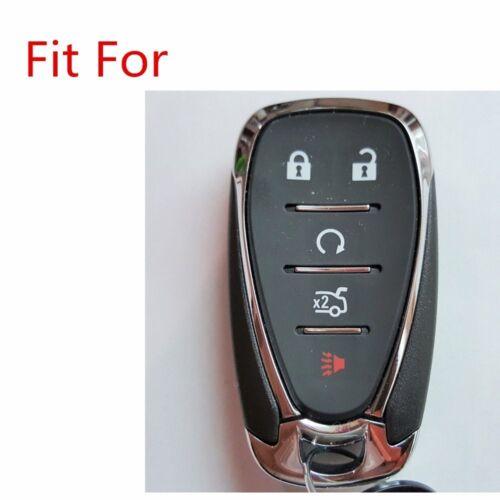 Black//red Words Key Cover For 16 17 Chevrolet mailibu camaro Cruze 5bts HYQ4EA