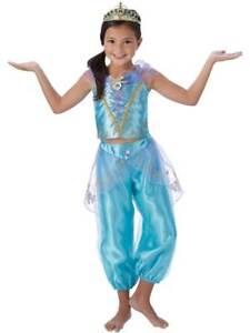 c50b18b5b9dd Image is loading Jasmine-Girls-Fancy-Dress-Disney-Aladdin-Arabian-Princess-