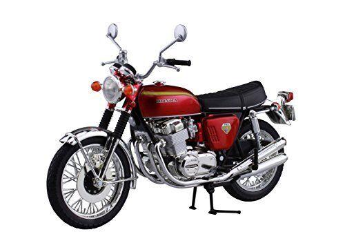 Aoshima cielonet 04323  Honda CB750FOUR (K0) Cey Rosso 1 12 Scala Finito modellolo  il prezzo più basso