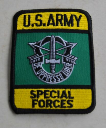 Army Special Forces EMBLEMA INSIGNIA p2 Ricamate patch aufbügler USA U.S