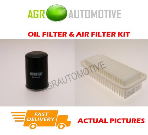 PETROL SERVICE KIT OIL AIR FILTER FOR TOYOTA YARIS 1.0 69 BHP 2005-12