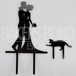 Image Is Loading Mr Amp Mrs Pet Cat Acrylic Wedding Day