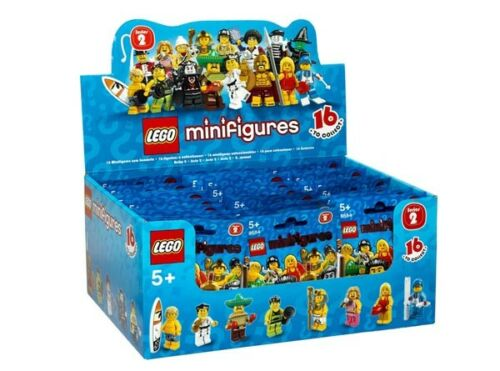 - new in factory sealed bags 8684 you choose LEGO Minifigures Series 2