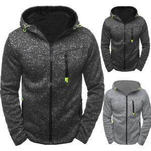 Fashion-Men-039-s-Winter-Hoodie-Warm-Hooded-Sweatshirt-Sweater-Coat-Jacket-Outwear