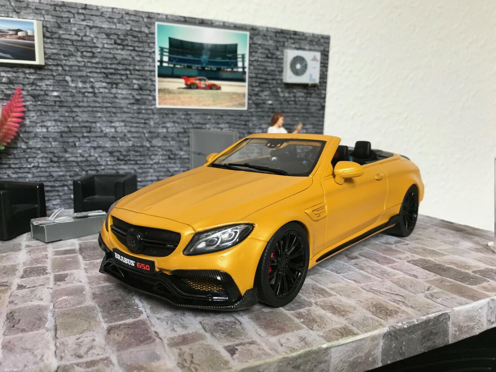 Mercedes Benz 650 BRABUS GT SPIRIT 1 18 Tuning Conversion dans neuf dans sa boîte nº 385 500 pièce unique