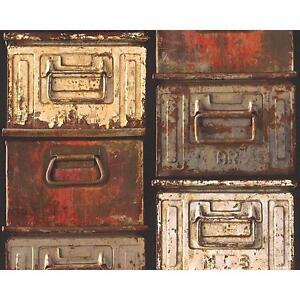 AS-Creation-Metal-Boite-Papier-peint-mural-vintage-realiste-effet-texture-306752