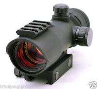 US ARMY Alpha Black Elite Paintball Gun Sight, Alpha Black Elite Gun Red Dot.