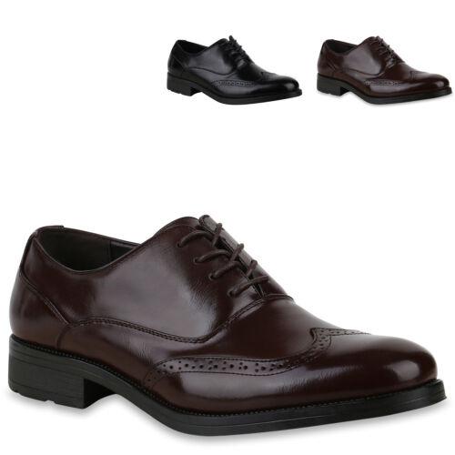 893595 Herren Business Budapester Schuhe Elegante Halbschuhe Schnürer Mode