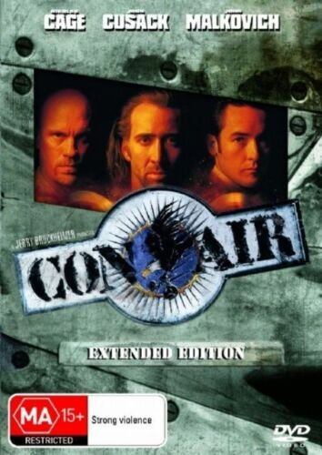 1 of 1 - Con Air (Extended Edition) NEW R4 DVD