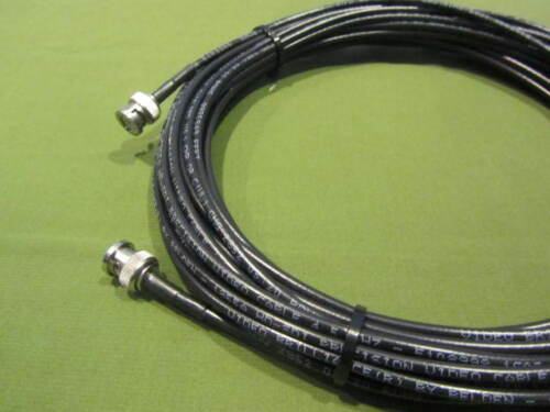 Belden 1855A HD-SDI Mini RG59 Video Cable BNC Male to Male Black 30 ft.