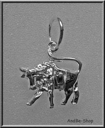 Anhänger Sternzeichen STIER 925er.Sterling Silber 16//22mm.1,49g TOP