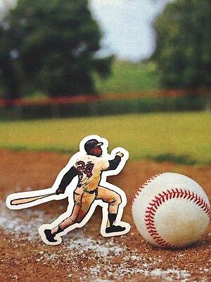 Fanartikel San Francisco Giants Willie Mays Patch-perfect Für Hemden & Caps-say Hey Kinder Baseball & Softball