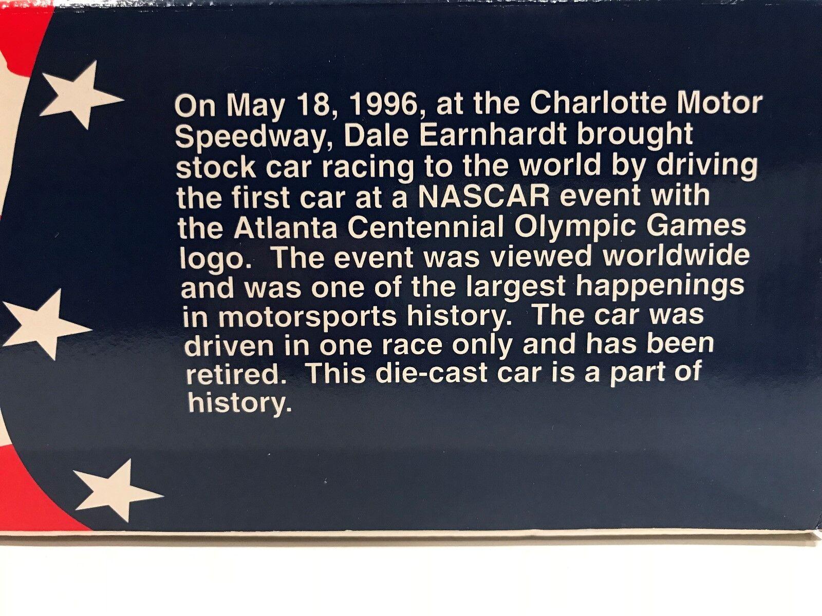 Dale Earnhardt Goodwrench Monte Carlo 1996 Atlanta Atlanta Atlanta  3 Diecast Escala 1 24 - Nuevo 2321bb