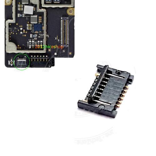 2pcs For iPad 4 A1458 A1459 A1460 Home Button J5950 FPC Connector Socket Plug