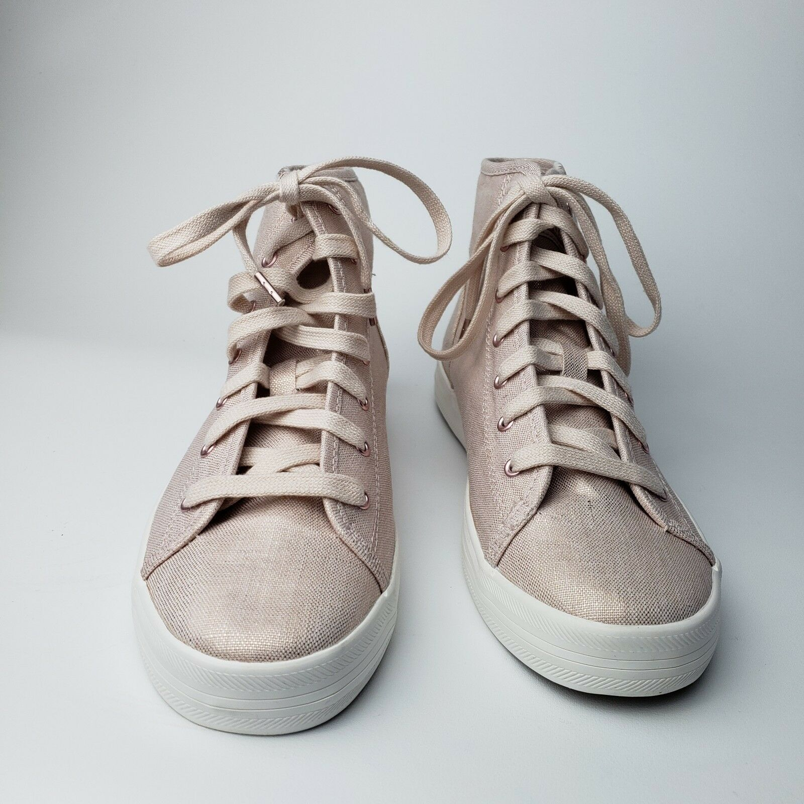 Keds Kickstart HI Met Rose or Taille 7 new in in in box c49702