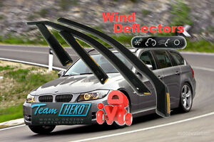 BMW-3-E91-2005-ESTATE-WAGON-4-doors-Wind-deflectors-4-pc-HEKO-11143