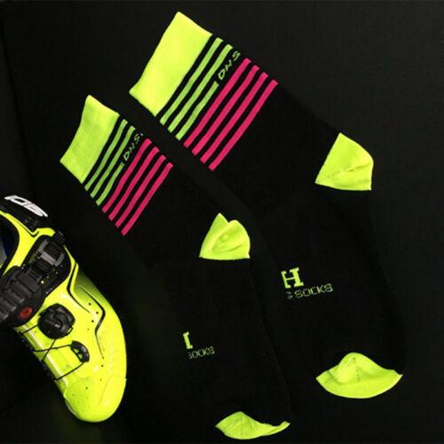 Running Sport Cycling Socks Men Women Ankle Breathable Sports Bike Sock Cut US