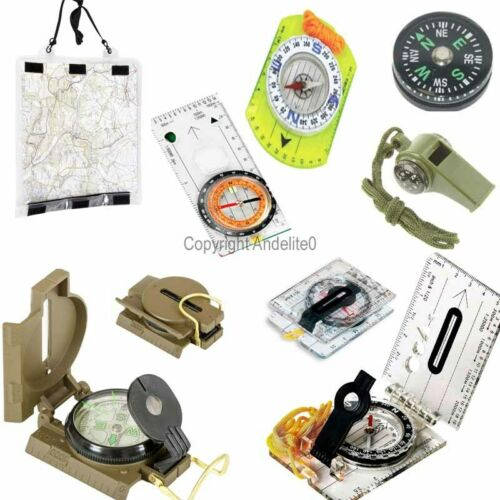 Compass or Map Case FOR ALL Scout Or Military Lensatic Metal Sighting Army