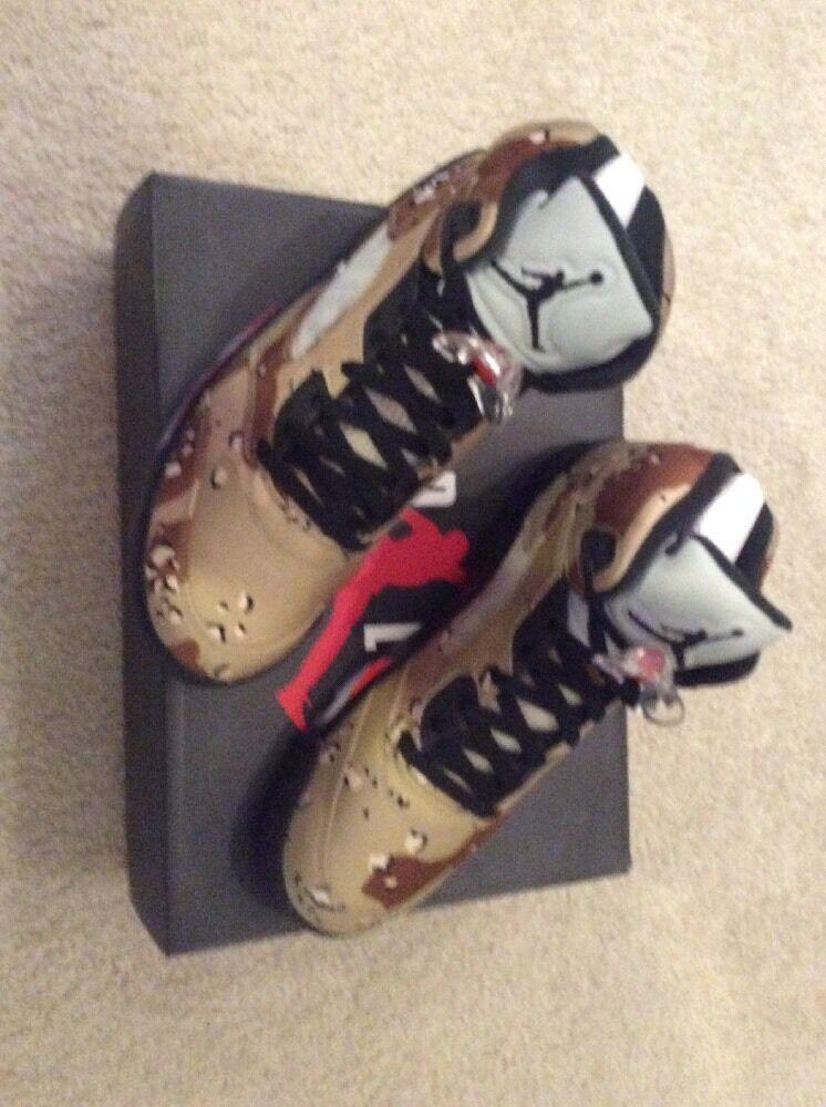 Supreme x Nike Air Jordan 5 V Retro 'Desert Camo' Deadstock - Size 10.5