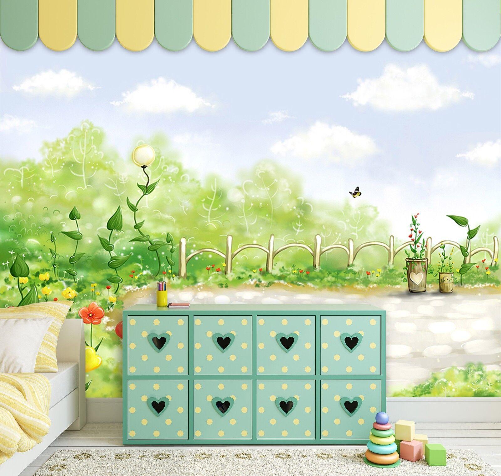 3D 3D 3D Himmel Märchen Garten 8946 Tapete Wandgemälde Tapeten Bild Familie DE Jenny | Wir haben von unseren Kunden Lob erhalten.  | Feinen Qualität  | Deutschland Shops  8944bb