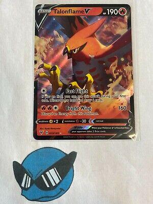 Pokemon TCG TalonFlame V 29//185 Vivid Voltage