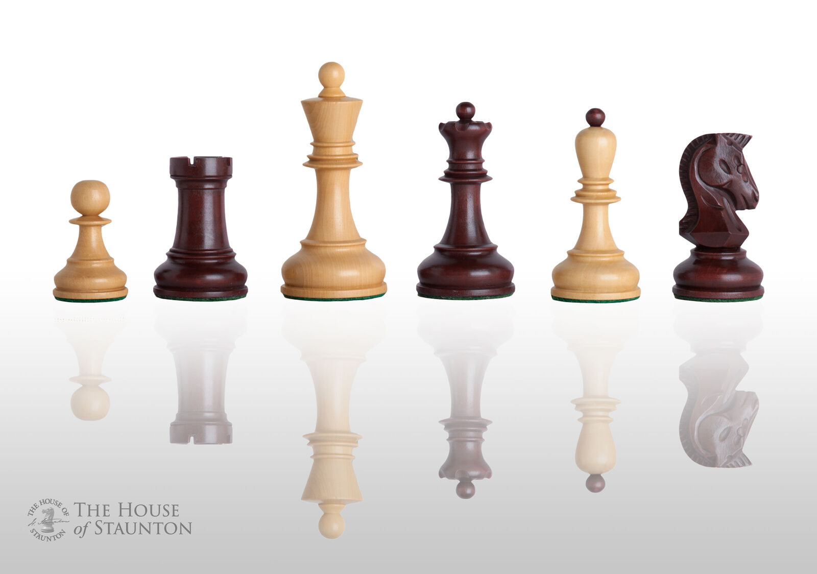 The Dubrovnik Chess Set - Pieces Only - 3.75  King - violaheart Gilded