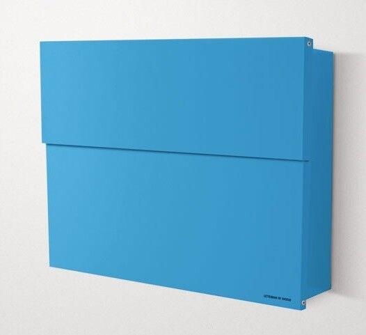 Radius Design Briefkasten Postkasten Letterman XXL 2 blau 562n